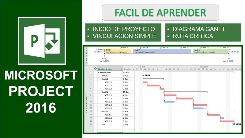 Microsoft Office Project 2016